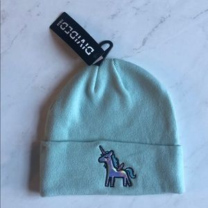 H&M Mint Unicorn Beanie